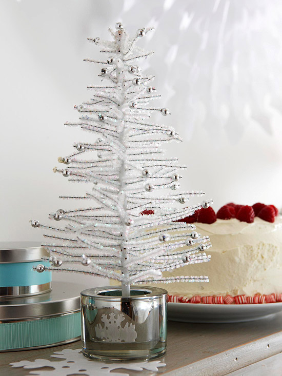 White Mini Tree