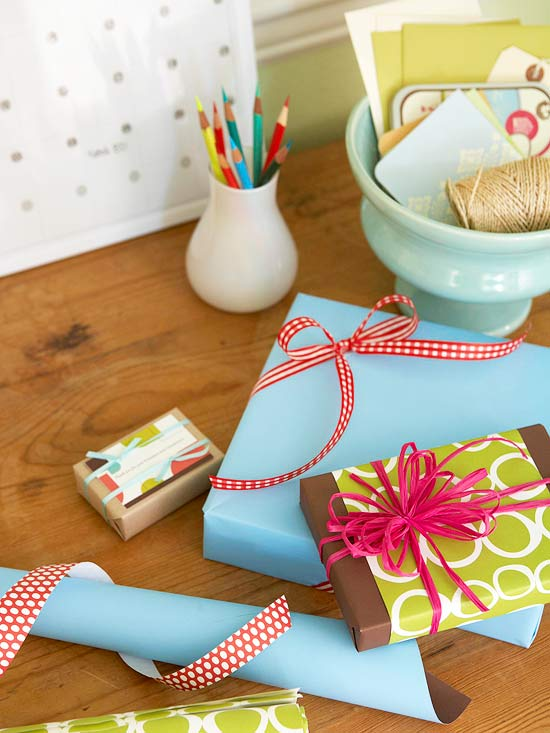Double-Wrapped Gifts