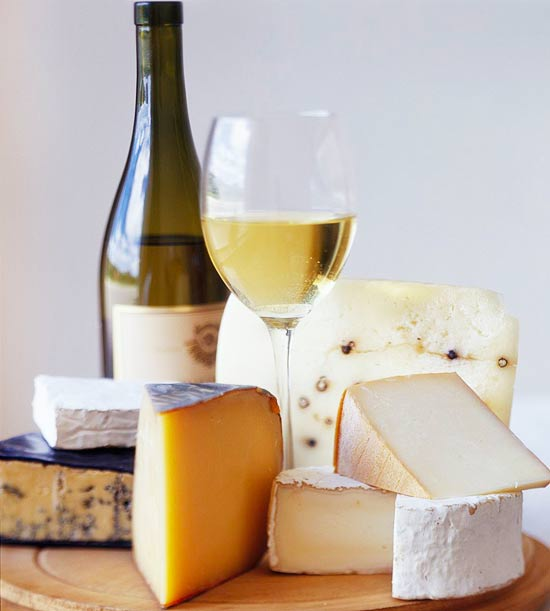 Pleasing Wine and Cheese Combinations