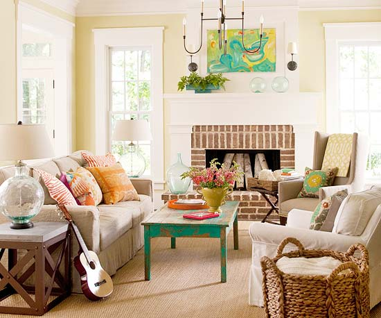Fresh & Fun Living Room