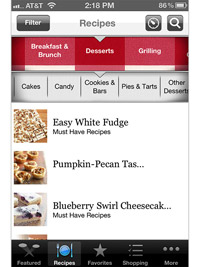 BHG Must Have Recipes App