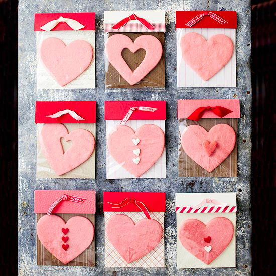 Heart-shape sugar cookies