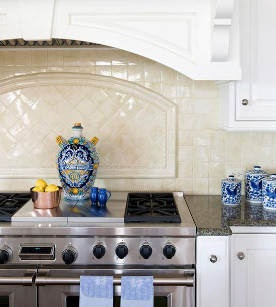 today 39 s idea add a backsplash to your kitchen counter