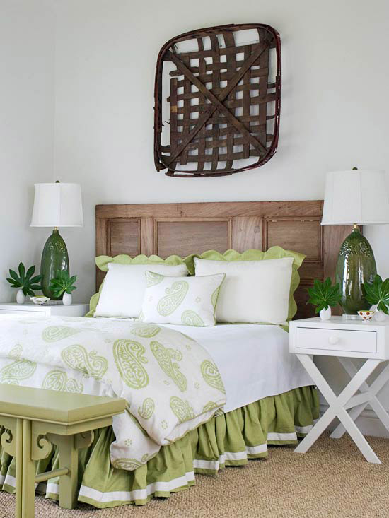 Re-treated & Refreshed Headboard
