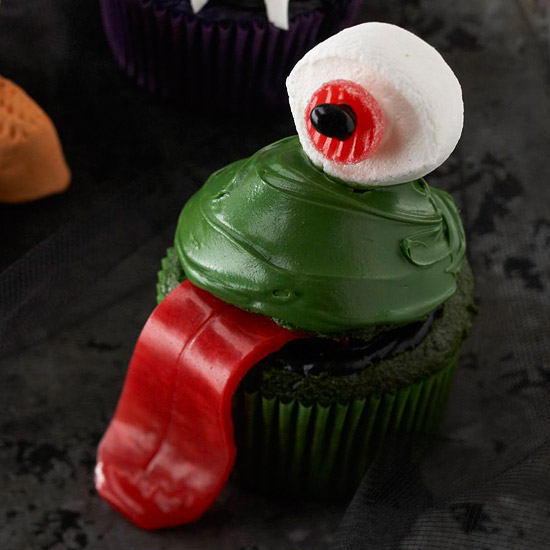 One-Eyed Monster Cupcake