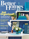 Better Homes and Gardens January 2012 Cover
