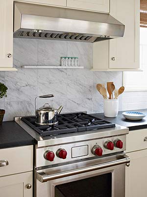Luxury on a Budget Backsplash
