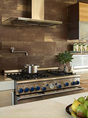Rustic Appeal Backsplash