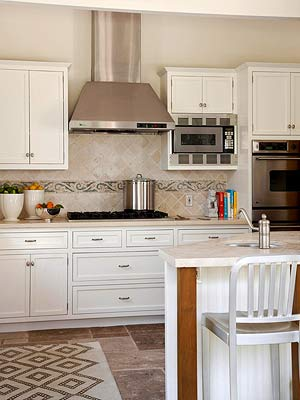 Horizontal Kitchen Cabinets