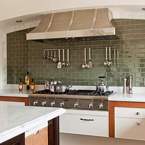 Classic but Contemporary Backsplash