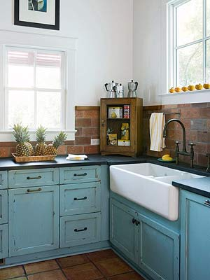 Cottage Charm Backsplash