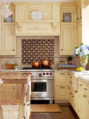 Chic Glamour Backsplash