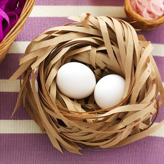 Paper Easter Basket Decoration