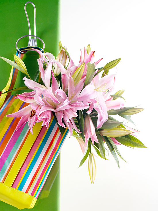 Tote and Bouquet Mother?s Day Gift