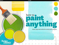 How to Paint Anything iPad App