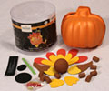 Jo-Ann Fabric and Craft Foam Pumpkin Turkey Craft Kit photo
