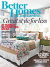 BHG August 2013 Mag Cover