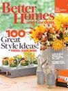 BHG September 2013 Cover