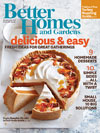 Better Homes and Gardens Nov. 2013 Cover