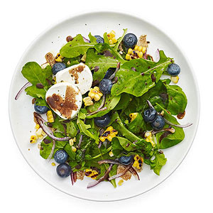 Arugula, Blueberry and Corn Salad