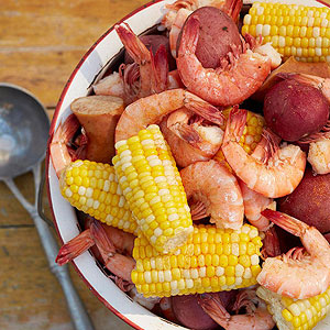 Shrimp Boil   Shrimp boil, 4t hof july, Family Circle Magazine