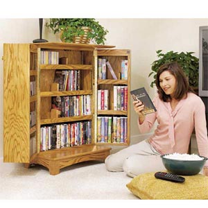 Media Storage Cabinet (Downloadable Plan)