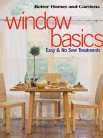 Window Basics: Easy and No-Sew Treatments