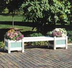 Classic Planter and Bench (Downloadable Plan)