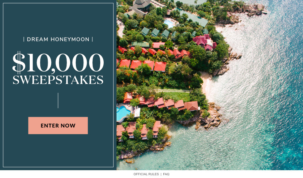 Dream Honeymoon $10,000 Sweepstakes
