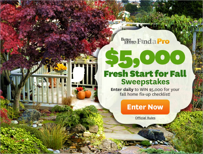Sweepstakes Online Store Surveys Better Home Gardens