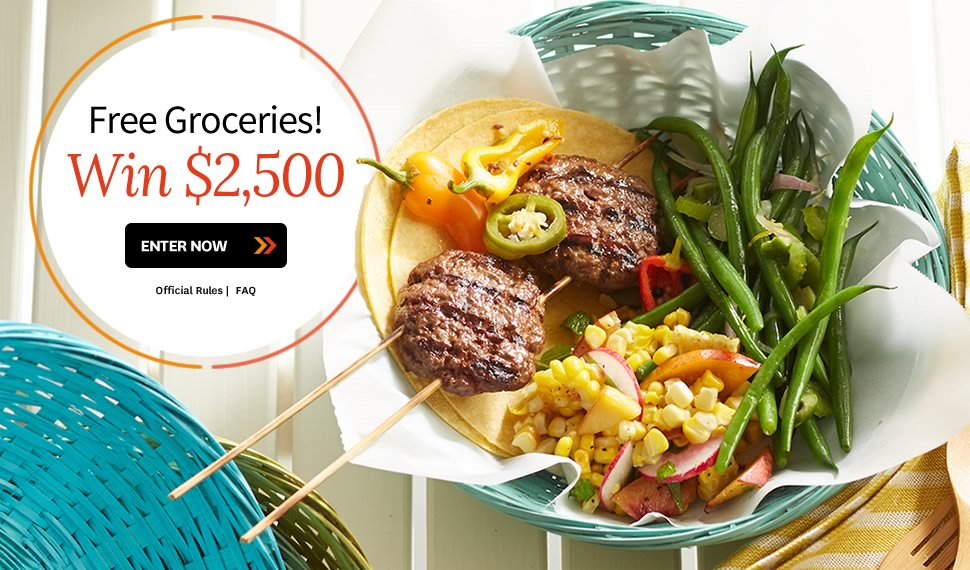 Better Homes And Gardens Win 2 500 Free Groceries Usa