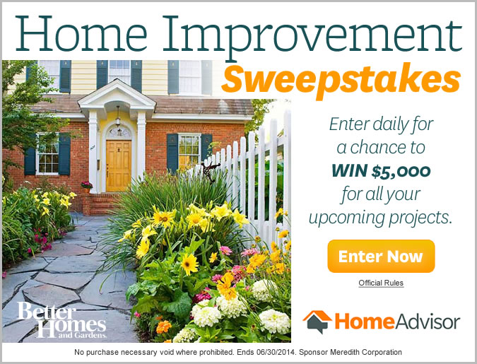Home improvement contests 28 images bhg home for A to z home improvements