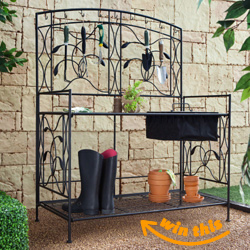 Coral Coast Metal Potting Bench