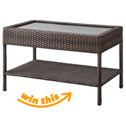 Threshold™ Wicker Patio Coffee Table