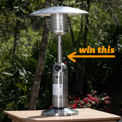 AZ Patio Heater Portable Tabletop Heater