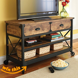 Better Homes and Gardens Rustic TV Stand