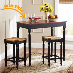 Better Homes and Gardens 3-Pc. Pub Set