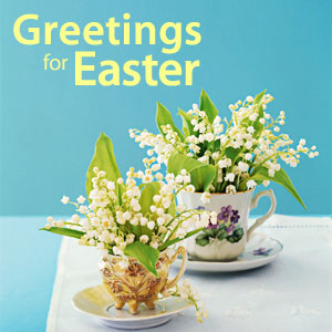 Greeting for Easter