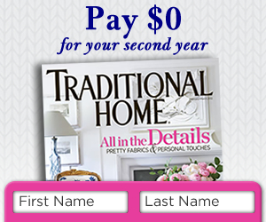 Traditional Home Subscription Offer