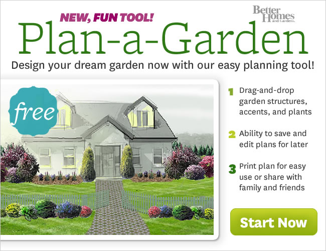 Senior journal online garden planning tool Better homes and gardens flower bed designs