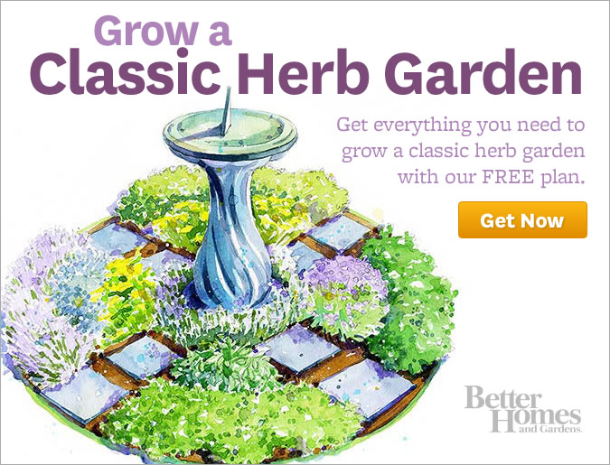 Bhgcom - tiny herb garden design plans
