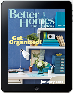 better homes and gardens on the ipad