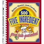 500 Five Ingredient Recipes