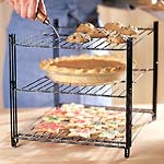 Triple-Tiered Cooling Rack