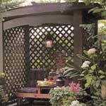 Scentsible Trellis Shelter (Printed Plans)