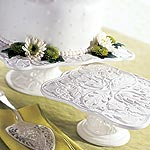 Embossed Cake Stand