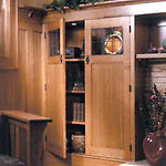 Click here for Built-In Bookcases (Downloadable Plan) from Better Homes & Gardens