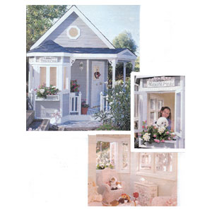 Free Playhouse Plans including a Castle Playhouse
