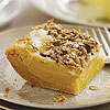 Sweet Potato Cheesecake Square