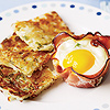 Ham and Egg Breakfast Cups with Hash Browns